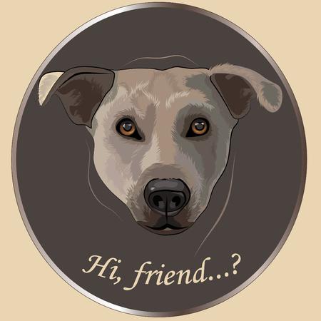 acirc: Dog&acirc,%uFFFD%uFFFDs portrait :&acirc,%uFFFD%uFFFDhi, friend&acirc,%uFFFD%uFFFD,