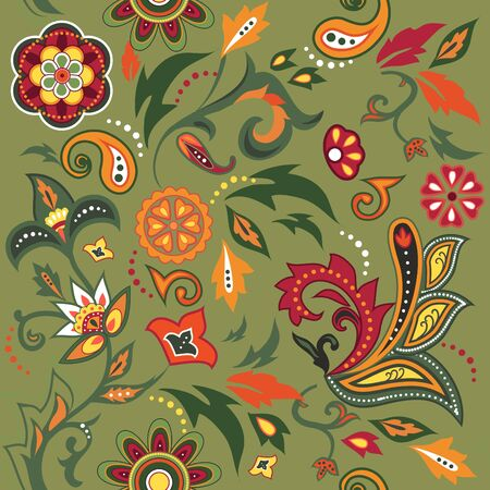 Colorful Eastern patterns set. Stock Vector - 9261860