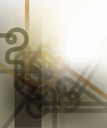 transparence: Stylish abstract background with geometrical patterns.