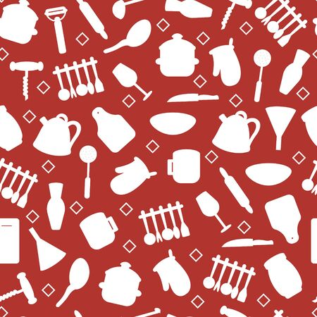 Vector kitchen tools set. Kitchenware collection. Lots of kitchen tools, utensils, cutlery. Modern flat design concepts for web banners, web sites, printed materials, infographics.