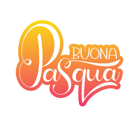 Buona pasqua colorful lettering happy easter colorful lettering buona pasqua colorful lettering happy easter colorful lettering in italian hand written easter phrases m4hsunfo