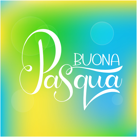 Buona pasqua stock photos royalty free buona pasqua images buona pasqua colorful lettering happy easter colorful lettering in italian hand written easter phrases m4hsunfo