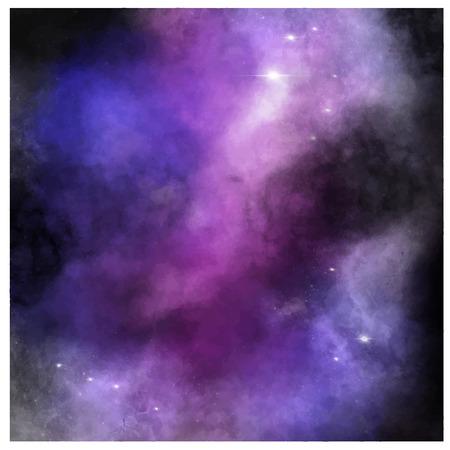 Deep space background  Violet background.