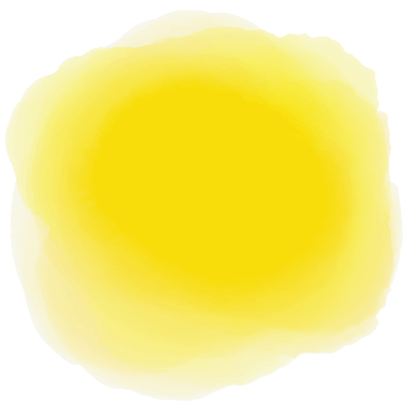 Yellow watercolor background Abstract background
