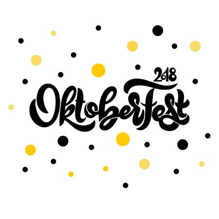 Oktoberfest icon. Beer festival banner. Stock Illustratie