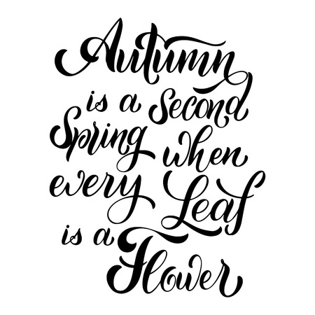 Hello Autumn lettering. Elements for invitations, posters, greeting cards. Seasons Greetings Standard-Bild - 111905211