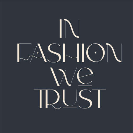 Fashion and beauty quotes. Vector illustration. Typography for banner, poster or clothing design. 向量圖像