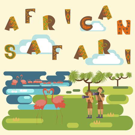 tanzania: African safari concept
