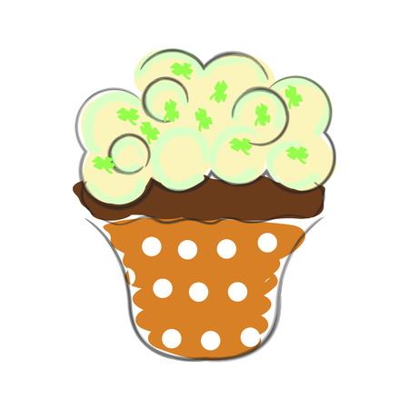 sprinkle: Hand drawn cupcake