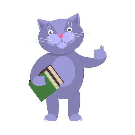 Illustration of funny cat Illustration