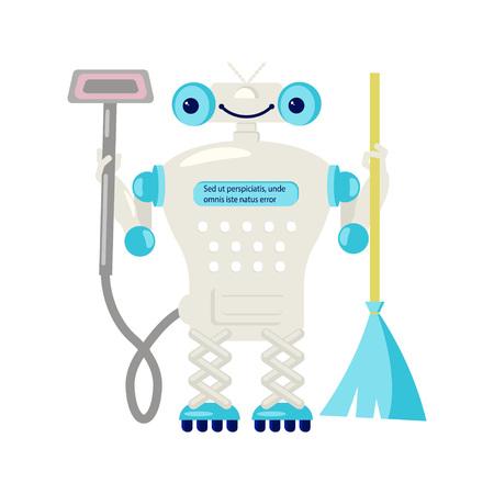 家事用ホームロボット 写真素材 - 93441914