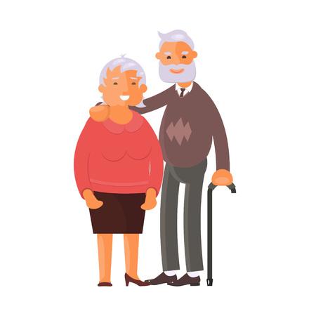 Estilo de vida saludable y activo Ilustración de vector