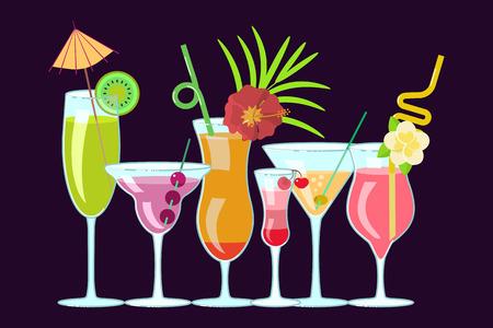 Exotic alcoholic drinks
