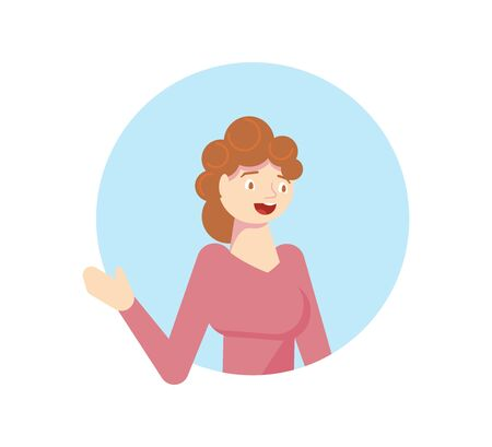 Quarantined people look out of the windows of their apartments. Woman applauds and thanks doctors. Flat Art Vector Illustration