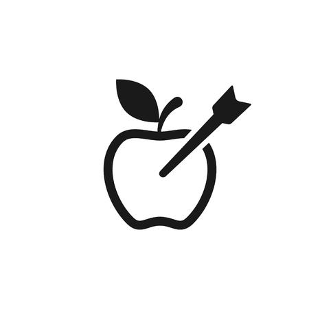 Target fruit icon.