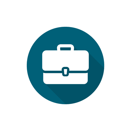 Briefcase Icon isolated vector illustration Illustration