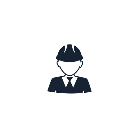 Foreman icon, Engineering, construction manager vector illustration.