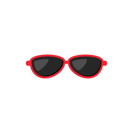 Sunglasses icon, Vector flat style isolated illustration.