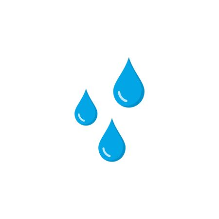 Water drop icon Template vector illustration design. Stockfoto - 132509957