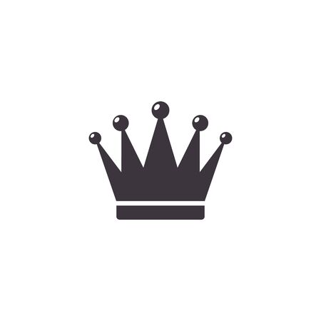 Crown Icon in trendy flat style isolated on white background. Crown symbol Vector illustration. 向量圖像