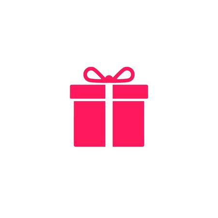 Gift icon, Present, Giftbox Isolated Flat Vector symbol. Stockfoto - 145208750