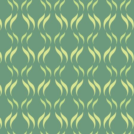 wave pattern in retro style Vector
