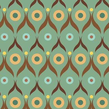 60s fashion: retro wallpaper