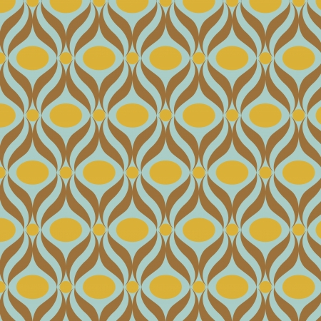 vector seamles  retro pattern
