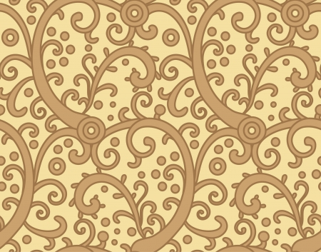seamless decorative ornamental pattern
