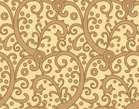 style: seamless decorative ornamental pattern