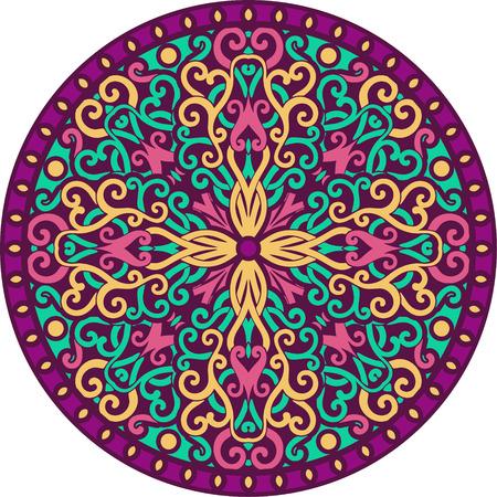 vector ornamental mandala photo