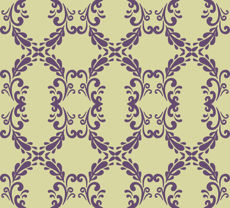 vector seamless  floral parrern photo