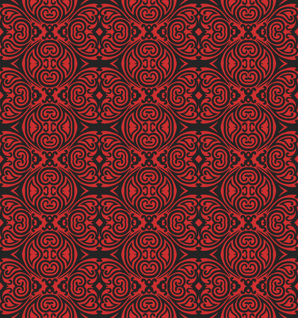 vector seamless abstract wallpaper pattern Illustration