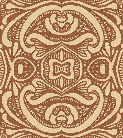 vector seamless art deco ornamental pattern photo