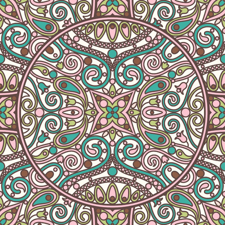 patern: seamless vector  ornamental patern Illustration