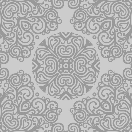 seamless vector ornamental patern