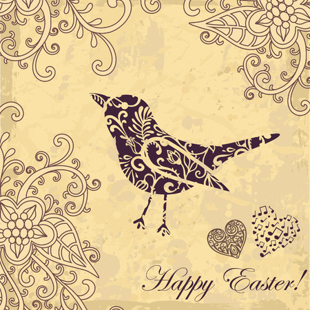 vector easter card  Vector