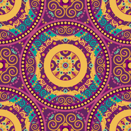 vector abstract seamless orient decorative pattern  Vector