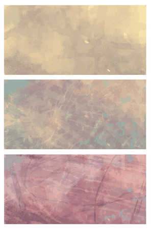 paint splat: set of various vector abstract decorative grunge nature backrounds