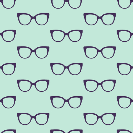 vector seamless  pattern with glasses Vector