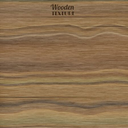 Wooden realistic style texture vector illustration for wall and tiling background