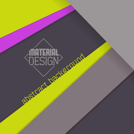 Material design wallpaper, grays and bright colors Illusztráció