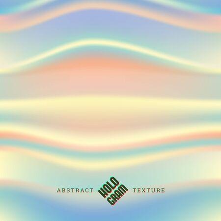 Hologram wavy liqud effect texture Illusztráció