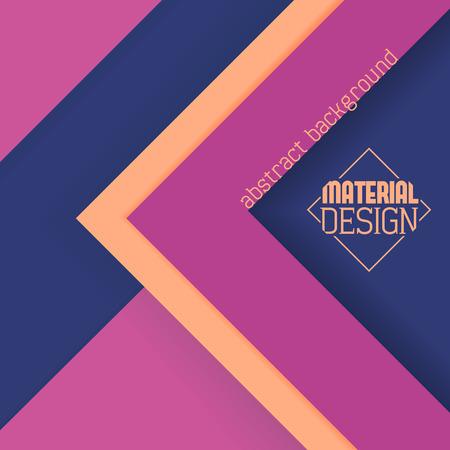 Material design wallpaper, minimalistic design, local colors Illusztráció