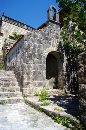 tabernacle: Church in Perast