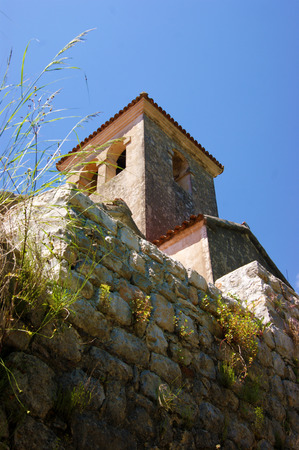The bell tower of the church of St. Anthony