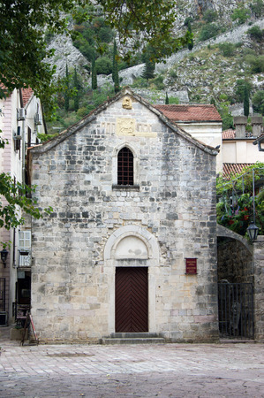 kotor: St. Michaels Church in Kotor Stock Photo