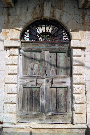 Old doors in Dobrota