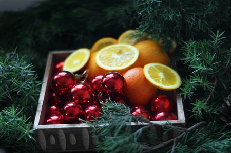 nativity scene: christmas box