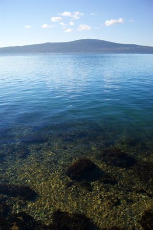 clear waters: The clear waters of the Adriatic